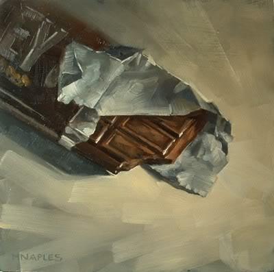 """Milk Chocolate"" original fine art by Michael Naples"