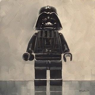 """Darth Vader"" original fine art by Michael Naples"