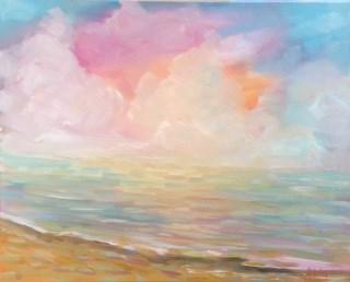 """Colorful Light Challenge"" original fine art by Maggie Flatley"