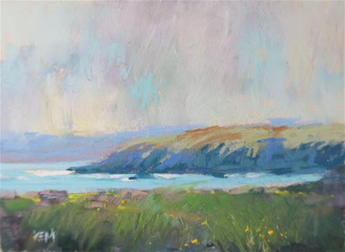 """Iceland Summer l"" original fine art by Karen Margulis"