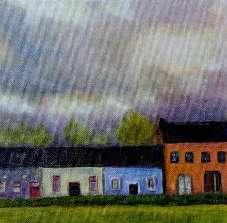 """Ireland"" original fine art by Maggie Flatley"
