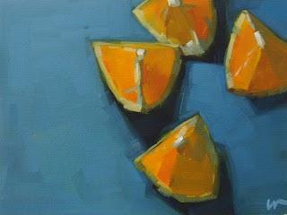 """""""Four Eighths"""" original fine art by Carol Marine"""