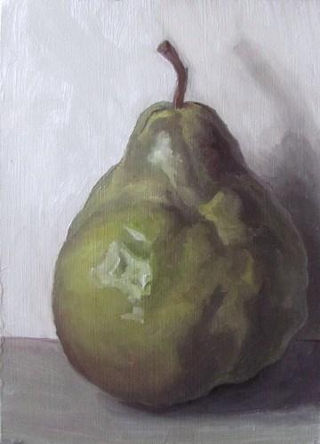"""""""35 - Pear 18"""" original fine art by Edward Watson"""