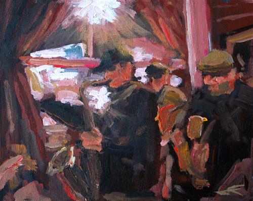 """Madrone Jazz II"" original fine art by J. Farnsworth"