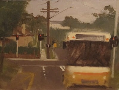 """BUS 472 - #1"" original fine art by Helen Cooper"