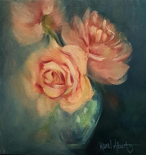 """""""REMEMBER THE DAY"""" original fine art by Ronel Alberts"""