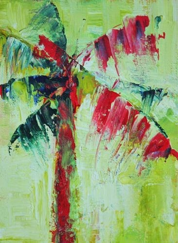 """""""Palm, Contemporary Landscape Paintings by Arizona Artist Amy Whitehouse"""" original fine art by Amy Whitehouse"""
