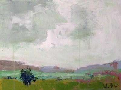 """Rainy Day Valley"" original fine art by Pamela Munger"