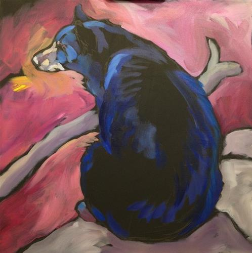 """Contemplation"" original fine art by Kat Corrigan"