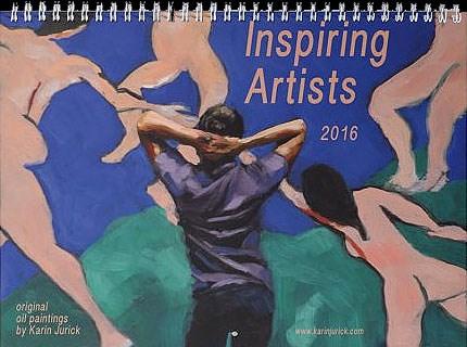 """My 2016 Calendars Are Here!"" original fine art by Karin Jurick"
