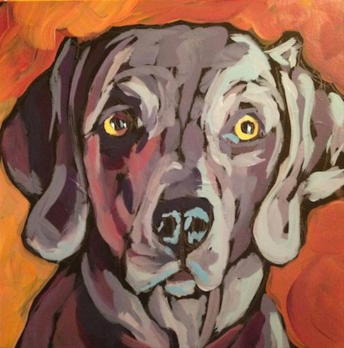 """July 10, Henry"" original fine art by Kat Corrigan"