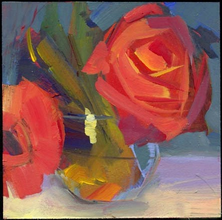 """1779 New tracks"" original fine art by Lisa Daria"