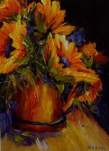 """Kissed by the Sun No. 2"" original fine art by Alice Harpel"