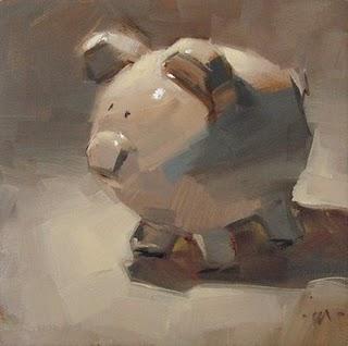 """White on White"" original fine art by Carol Marine"