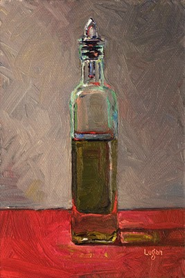 """Olive Oil"" original fine art by Raymond Logan"