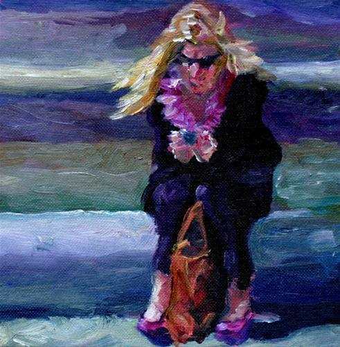 """15 minutes of fame"" original fine art by Kristen Dukat"