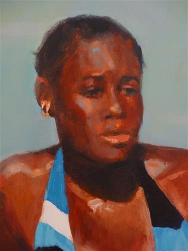 """Untitled"" original fine art by Jini James"