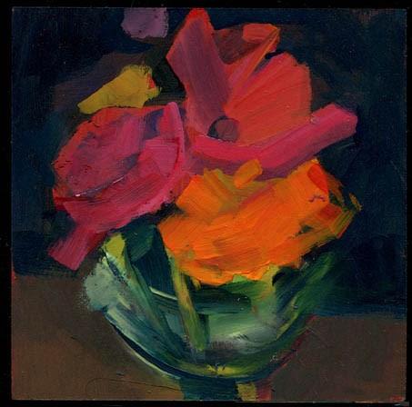 """1978 Noir"" original fine art by Lisa Daria"