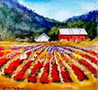 """Essence of Gilroy"" original fine art by JoAnne Perez Robinson"