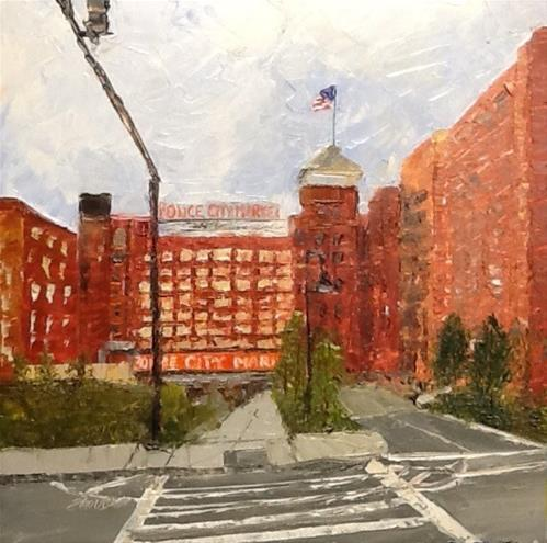 """Ponce City Market"" original fine art by Elaine Ford"
