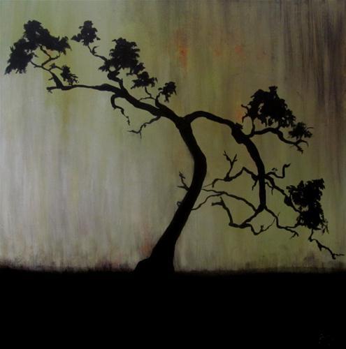 """""""Bonsai"""" original fine art by ~ces~ Christine E. S. Code"""