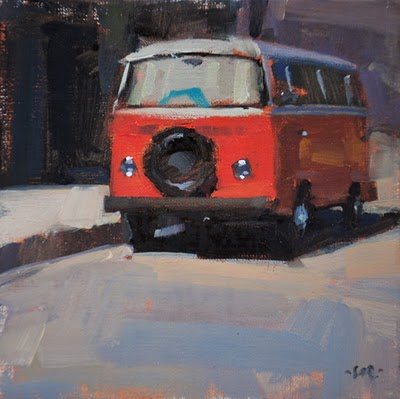"""Road Tripper"" original fine art by Carol Marine"