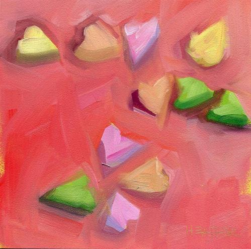 """Scattered Love"" original fine art by Heather Bennett"