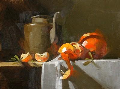 """Disintegration --- Sold"" original fine art by Qiang Huang"