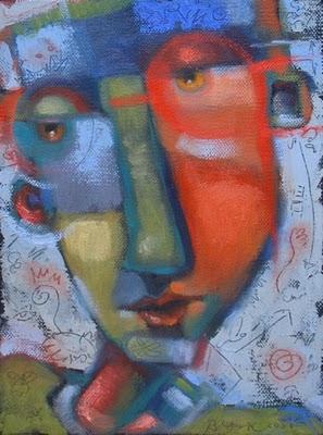 """Space Dust"" original fine art by Brenda York"