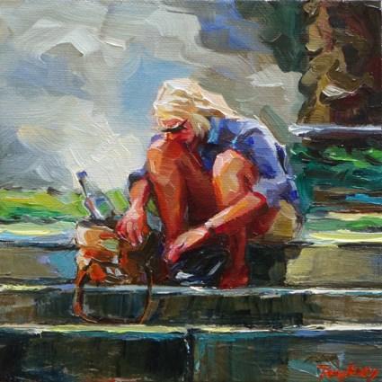 """""""Search on"""" original fine art by Jurij Frey"""