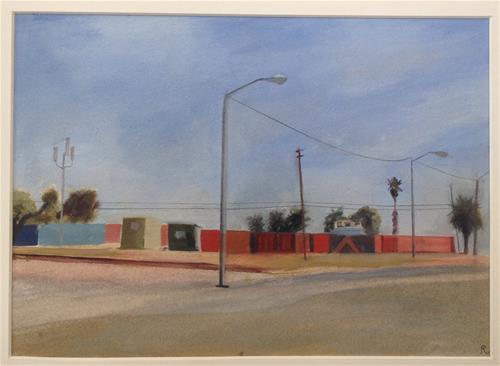 """Deserted Street Corner- SF"" original fine art by Allison Rockwell"