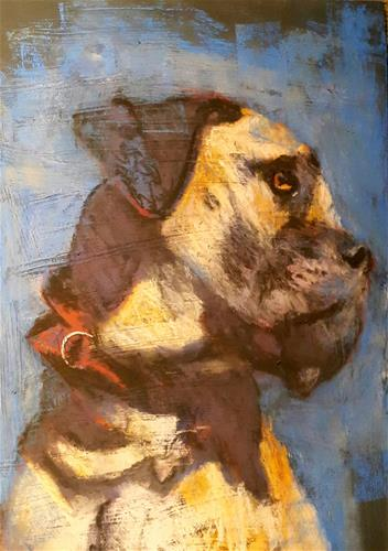 """Simon"" original fine art by Rentia Coetzee"