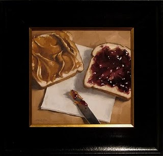 """PB & J Prep"" original fine art by Michael Naples"