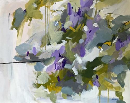 """""""Lilac"""" original fine art by Pamela Munger"""