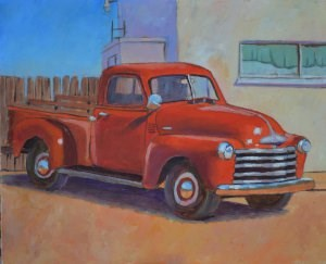 """""""All Polished Up"""" original fine art by Robert Frankis"""