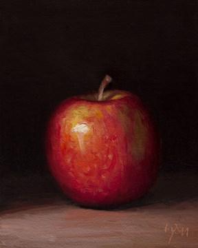 """""""Lady Apple in Last Light"""" original fine art by Abbey Ryan"""