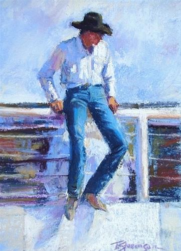 """A Feeling of Humanity: Contemporary Western Art from the Collection of Ken Ratner"" original fine art by Trish Stevenson"