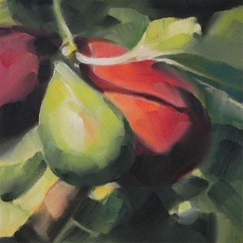 """Figs 2"" original fine art by Cheryl Wilson"