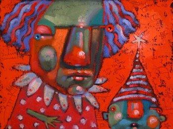 """Pouting Ninnies"" original fine art by Brenda York"