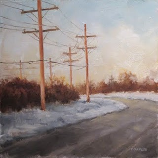 """Scenic Route"" original fine art by Michael Naples"