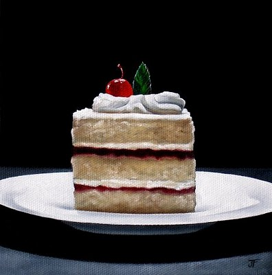 """Strawberry Shortcake"" original fine art by Jelaine Faunce"