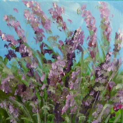 """""""Lavendelbusch 2"""" original fine art by Sabine Hüning"""