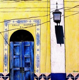 """""""Something Old.  Something New.  Something Borrowed.  Something Blue."""" original fine art by Jelaine Faunce"""