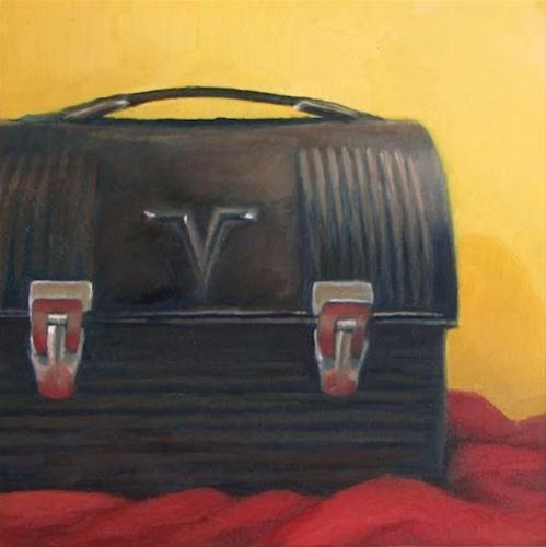 """Dad's Lunchbox"" original fine art by Nora Bergman"