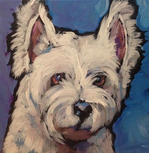 """Sammy"" original fine art by Kat Corrigan"