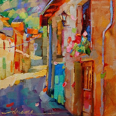 """""""Color Notes of France"""" original fine art by Dreama Tolle Perry"""