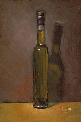 """Seasoned Olive Oil"" original fine art by Raymond Logan"