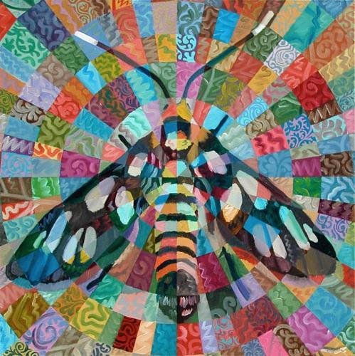 """""""Tiger Moth"""" original fine art by Randal Huiskens"""