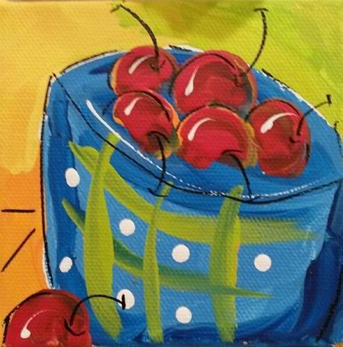 """Life is Like Chunky"" original fine art by Terri Einer"