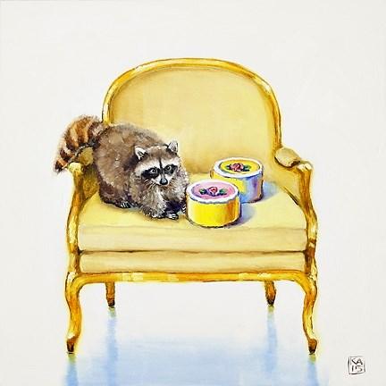"""you take the cake"" original fine art by Kimberly Applegate"